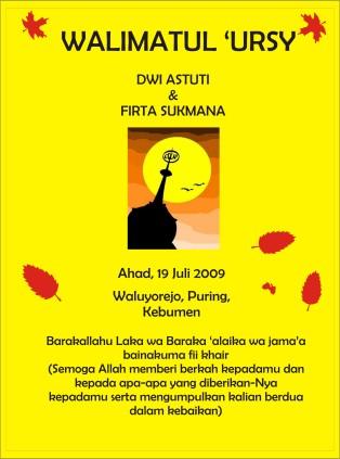 Undangan Pernikahan Dwi Astuti-TAK36 – Firta Sukmana | Tiga Enam's ...