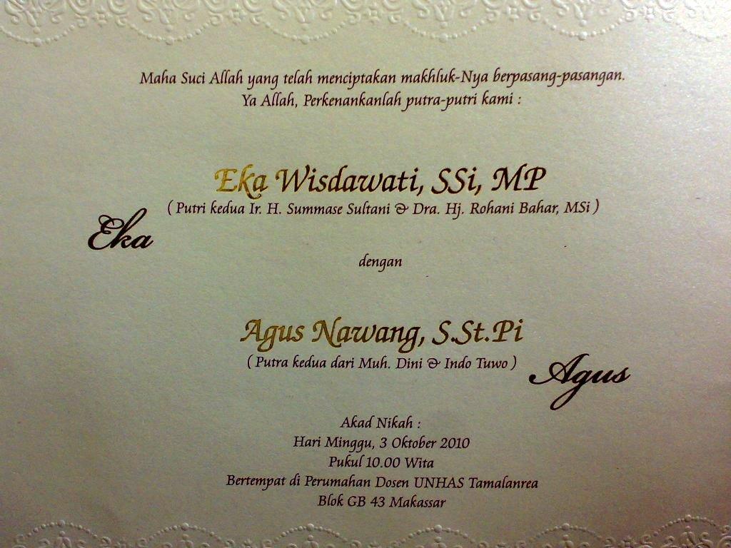 Undangan Pernikahan Agus Nawang (TAK-36)